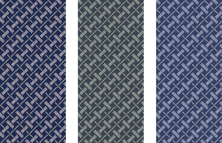 Papel pintado textil lienzo autoadhesivo Osaka