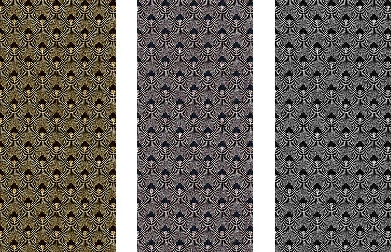 Papel pintado textil lienzo autoadhesivo Ventalle