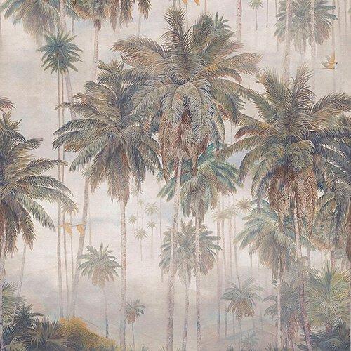 Papel pintado textil lienzo autoadhesivo Cocoe