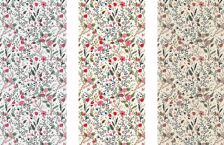 Papel pintado textil lienzo autoadhesivo Alessia