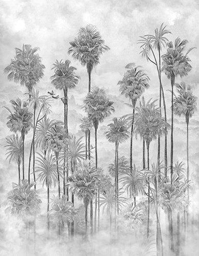 Papel vinílico linen Palmeira
