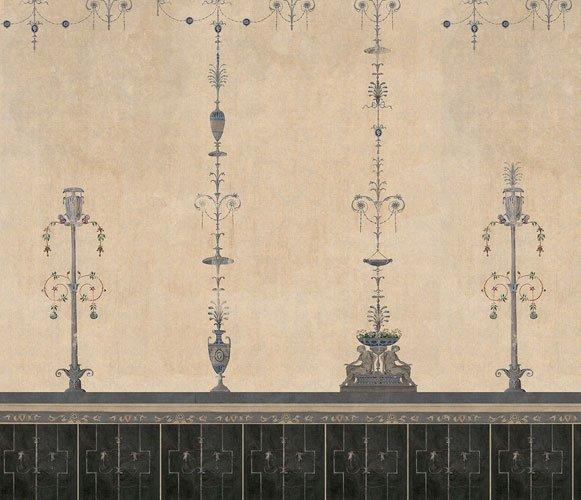 Papel vinílico linen Pompei