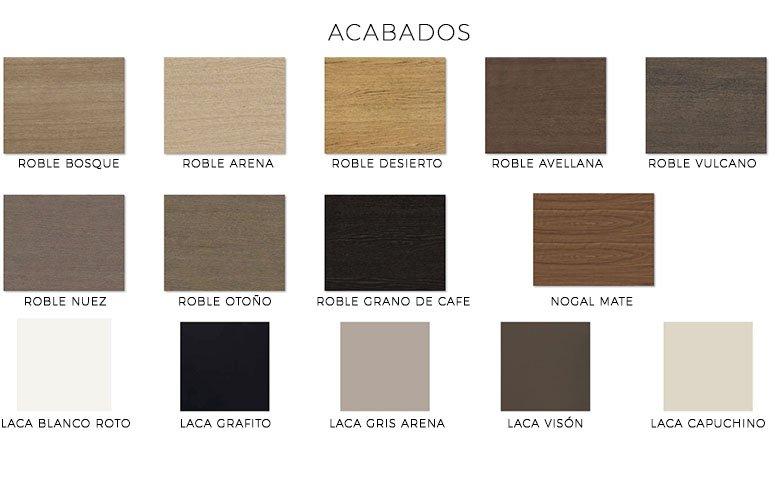 Aparador madera de diseño Dubra
