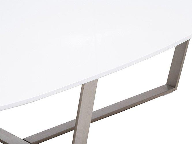 Mesa de centro ovalada de diseño Shot