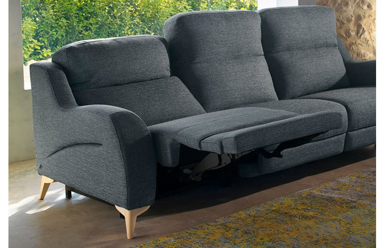 Sofá tapizado relax Gelarna
