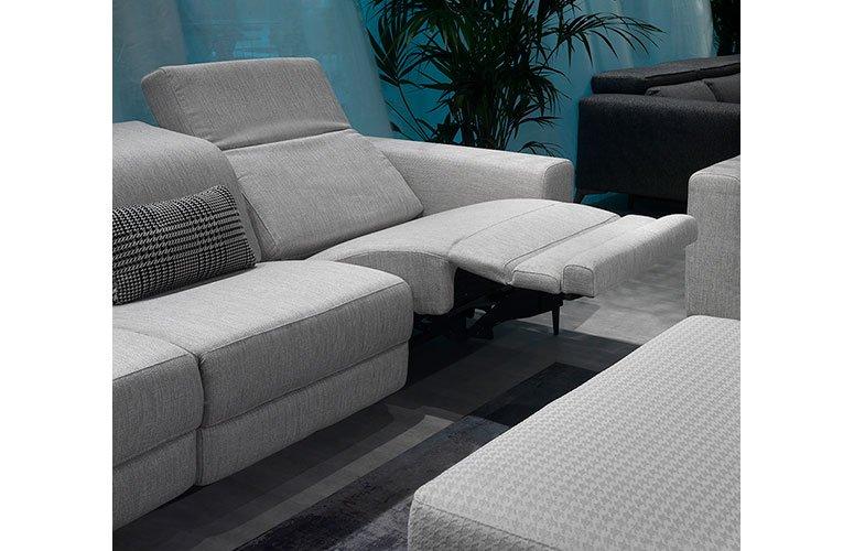 Sofá tapizado relax Sorne