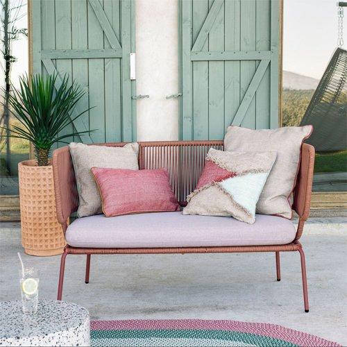 Sofá de Jardín Rosa Nadin