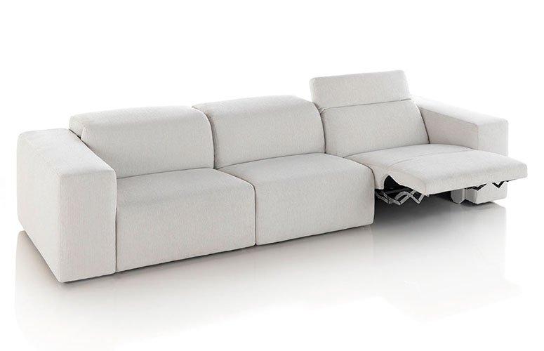 Sofá tapizado relax Weri