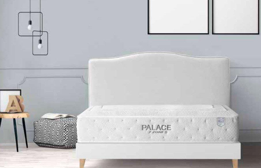 Colchón visco gel muelle ensacado firme 7 zonas Palace
