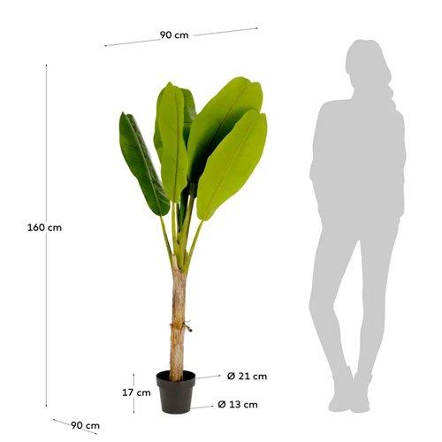 Planta artificial Banano