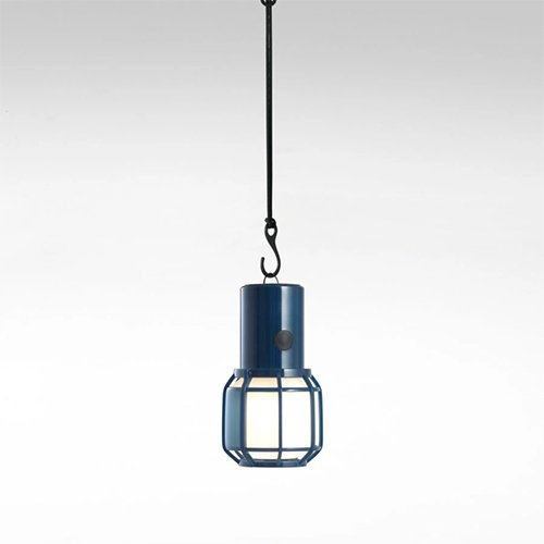 Lámpara inalambrica de sobremesa Chispa Marset azul