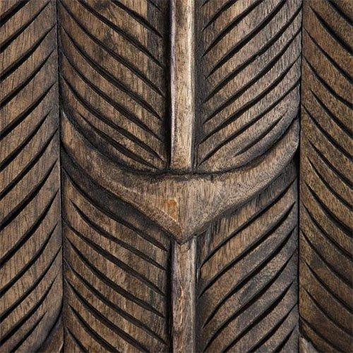 Armario etnico dos puertas de madera