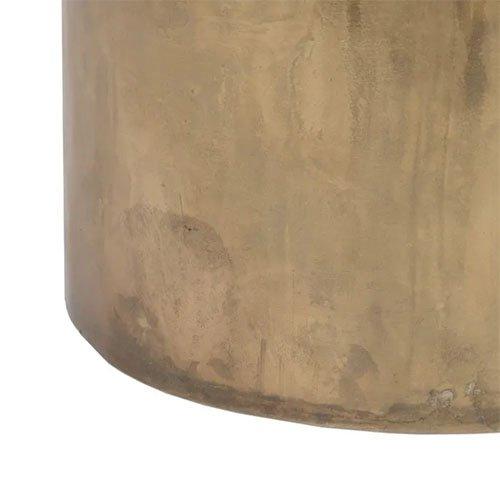 Consola de entrada de hierro ovalada