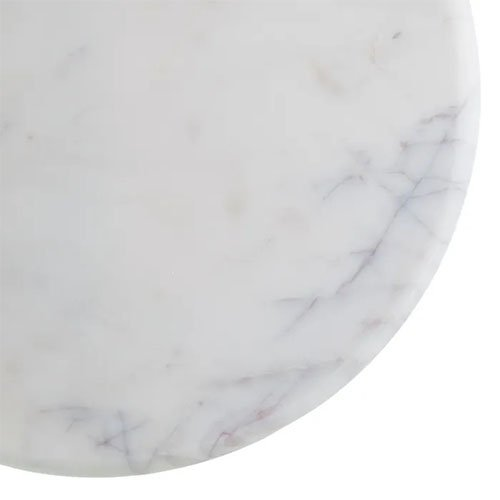 Consola de circulos de marmol