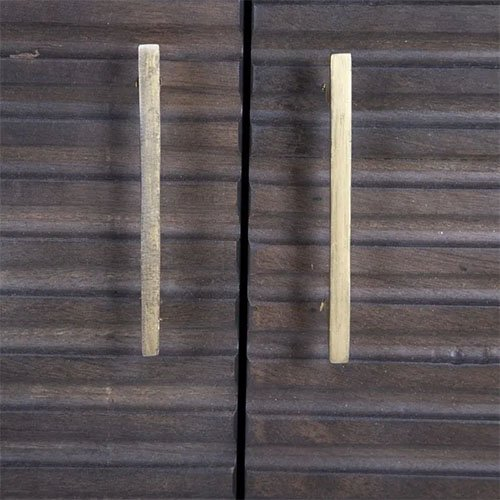 aparador madera oscura