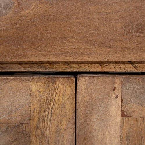 aparador de madera natural