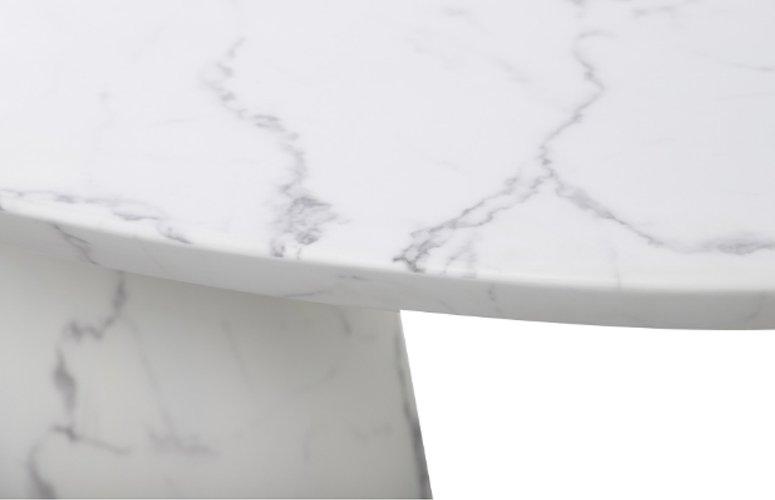Mesa comedor Semersooq blanco