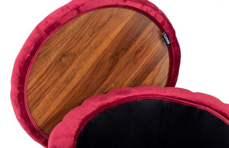 Dos mesas centro Stanley rojas