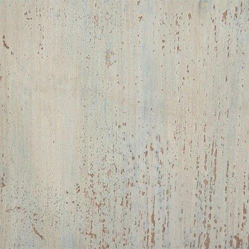 aparador de madera de olmo en azul rozado