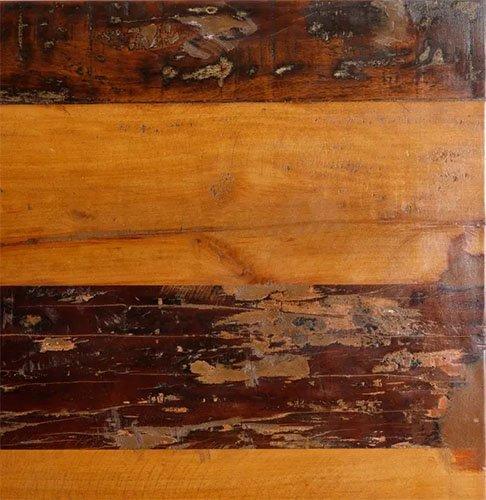 mesa comedor elevable de madera natural