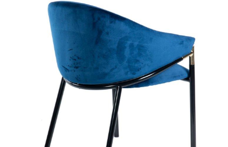 Silla Velvet Atlanta terciopelo hierro 57x57x79 cms