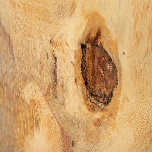 Mesa de centro de madera de suar natural