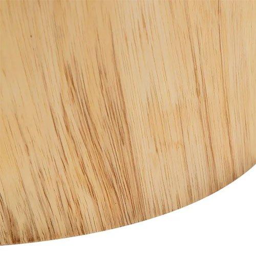 Mesa auxiliar de madera suar natural