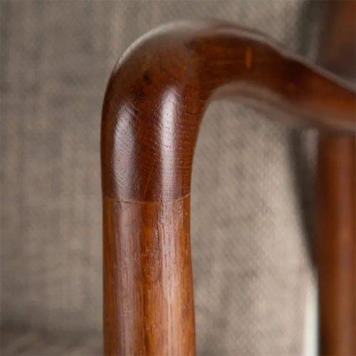 Sillón madera de roble-tejido