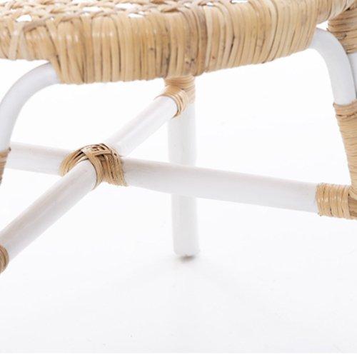 Silla Lampung blanco ratán