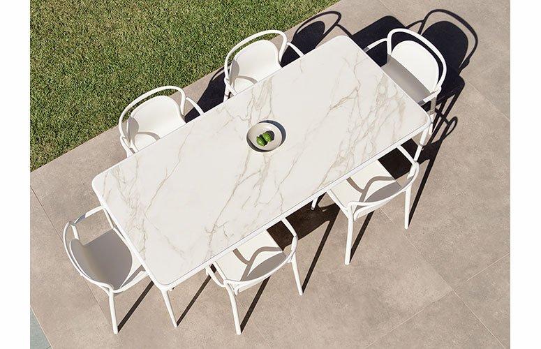 Mesa de comedor de jardín Xaloc