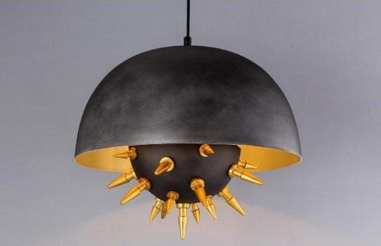 Lámpara techo Padua negro
