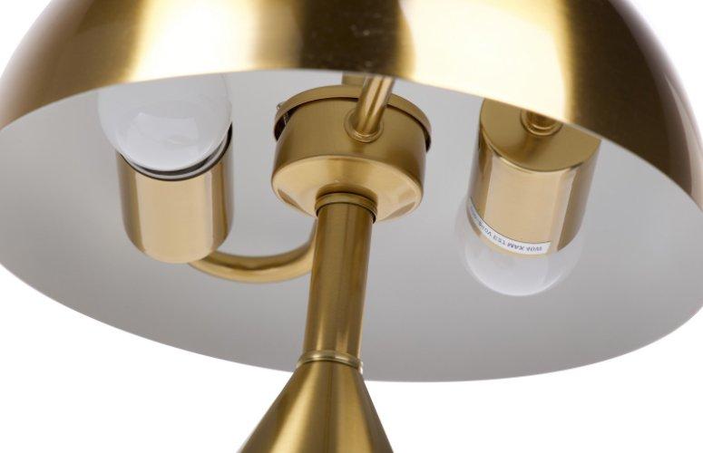 Lámpara sobremesa Hayward metal dorado