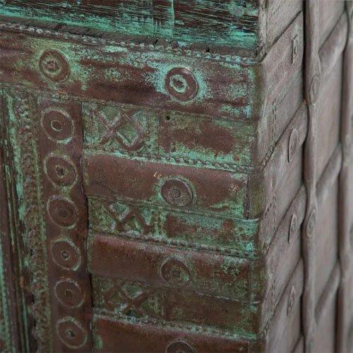 Consola vintage madera de teka natural