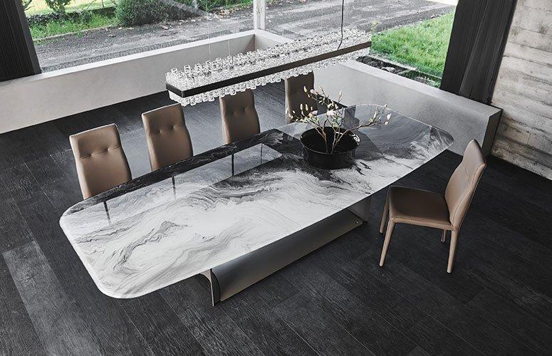 Mesa de comedor Dragon Crystalart Cattelan