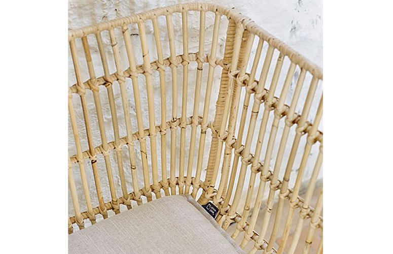 Sofá Aiala 2 plazas fibra natural 140 cms
