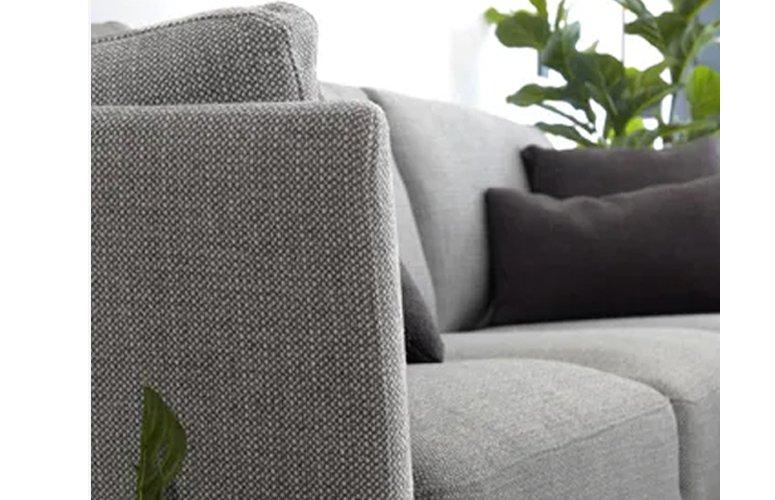 Sofá Gilma chaise loungue derecho gris 260 cms