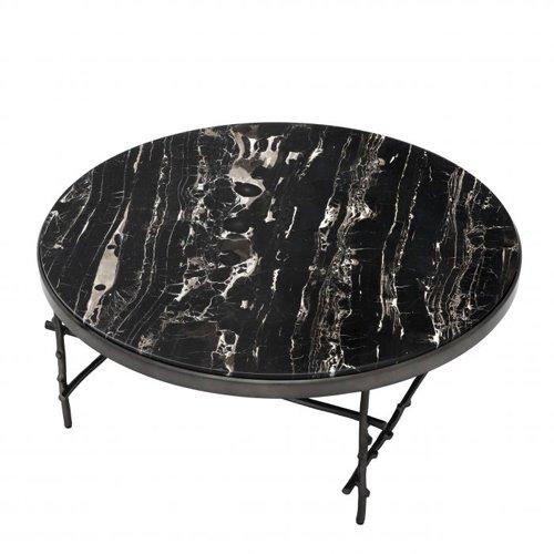 Mesa de centro mármol negro Tomasso R