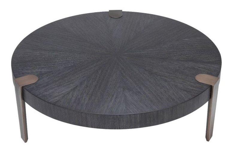 Mesa de centro madera Oxnard Negro