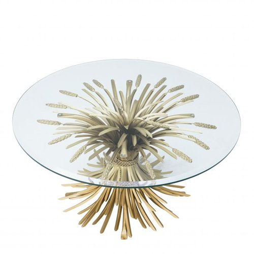 Mesa de centro cristal Bonheur