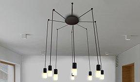 Lámpara de techo Tambor