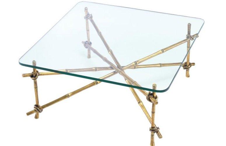 Mesa de centro cristal Kahala