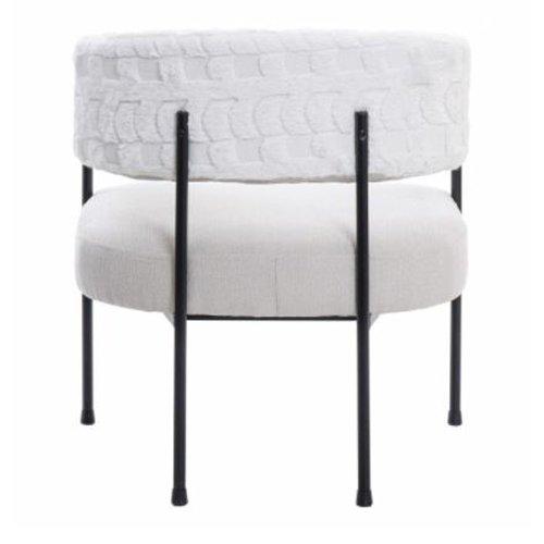 Sillón tapizado blanco Lidkoping