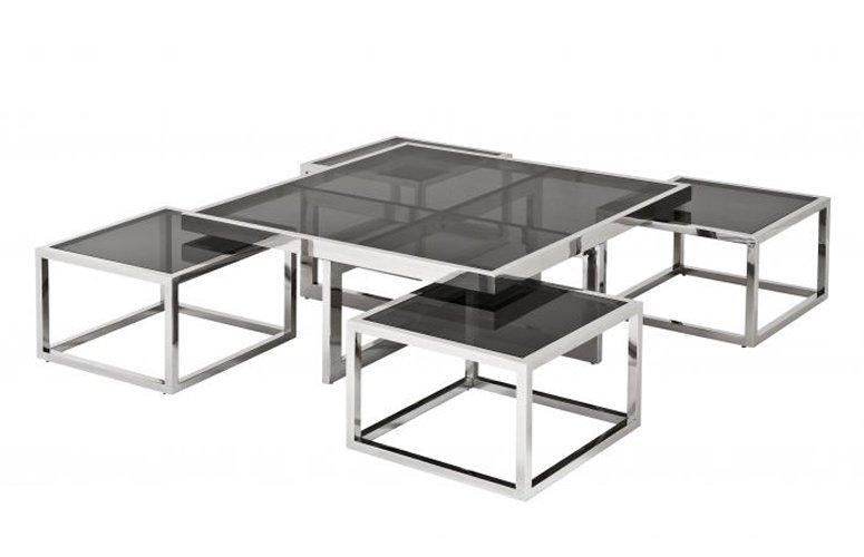 Mesa de comedor cristal Monogram