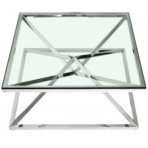 Mesa de centro cristal Connor