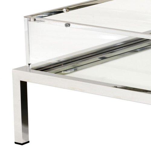 Mesa de centro cristal Harvey Rectangular