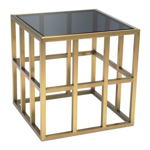 Mesa auxiliar cristal Lazare