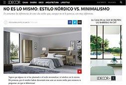 No es lo mismo: Estilo nórdico vs. minimalismo