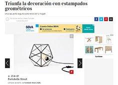 Triunfa la decoración con estampados geométricos