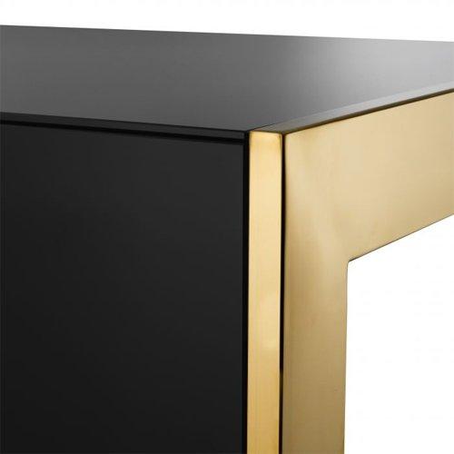 Mesa de escritorio acero inoxidable Cosmo