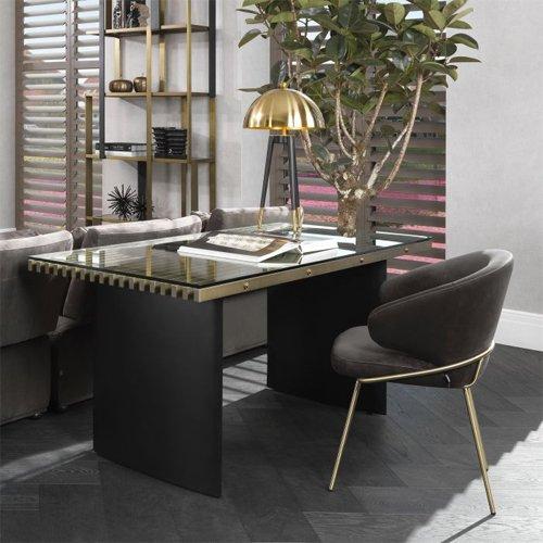 Mesa de escritorio hierro Vauclair